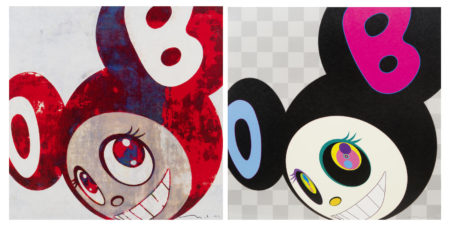 Takashi Murakami-And then, and then and then and then and then & AND THEN Black-2005