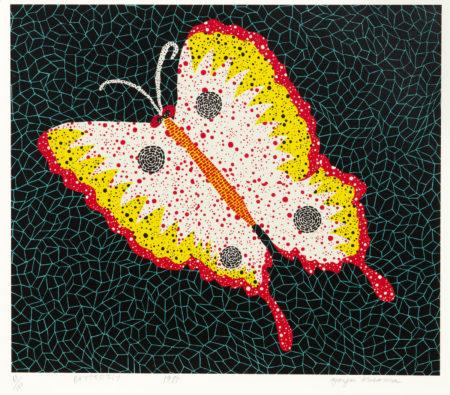 Yayoi Kusama-Butterfly-1985
