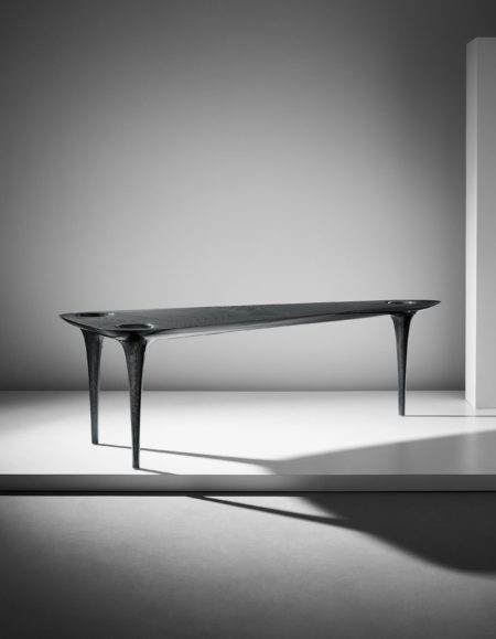 Marc Newson - Prototype 'Black Hole' table-2000