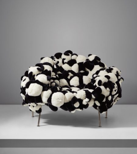 'Panda Banquette' chair-2007