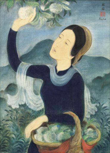 Le Pho-La Jeune Fille Aux Pommes-Cannelle-1938