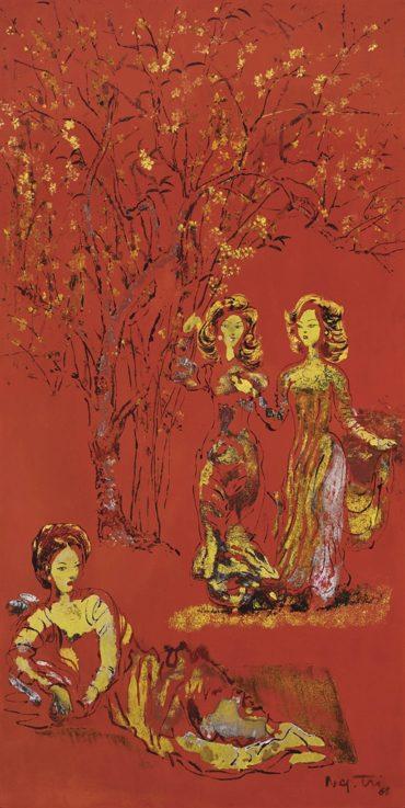 Nguyen Gia Tri-Les Elegantes (The Elegant)-1968