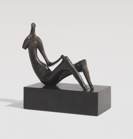 Henry Moore-Seated Woman: One Arm -1964