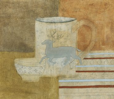 Ben Nicholson-Still Life With Mug Decorated With Stag-1930