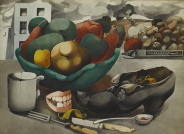 Edward Burra-Still Life With Teeth-1946