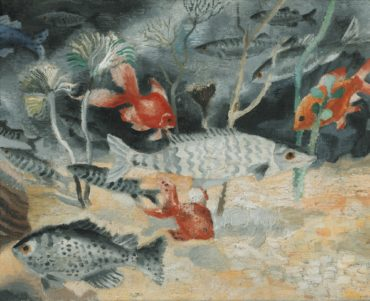 Christopher Wood-The Goldfish-1929