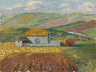Charles Ginner-Saltdean Valley-1910