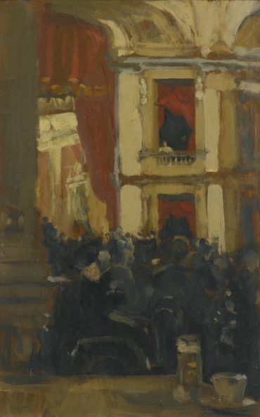 Walter Richard Sickert-The Kurhuis Scheveningen-1887