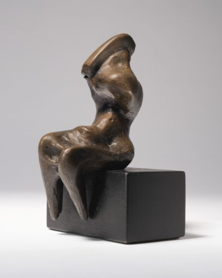 Henry Moore-Seated Figure: Armless Draped-1961