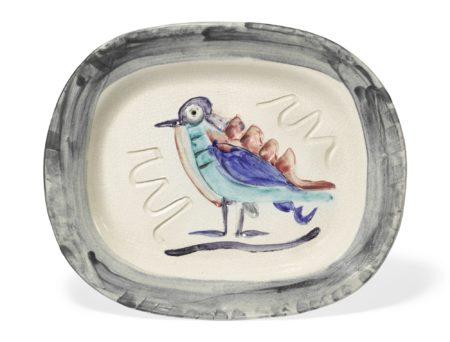Pablo Picasso-Oiseau Polychrome (Alan Ramie 33)-1947