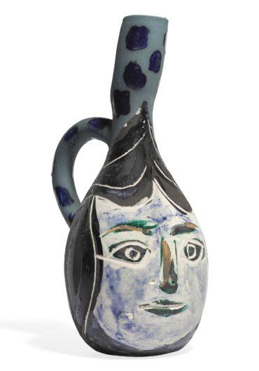 Pablo Picasso-Visage De Femme-1951