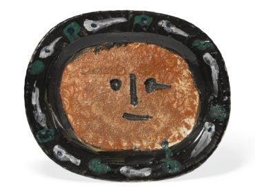 Pablo Picasso-Visage-1947