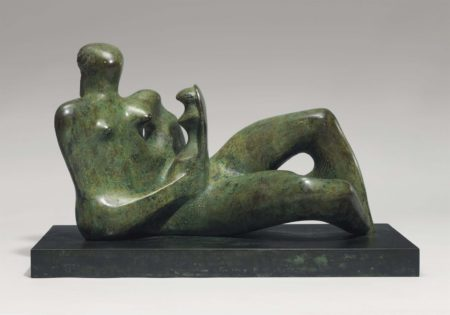 Working Model for Reclining Mother and Child-1975