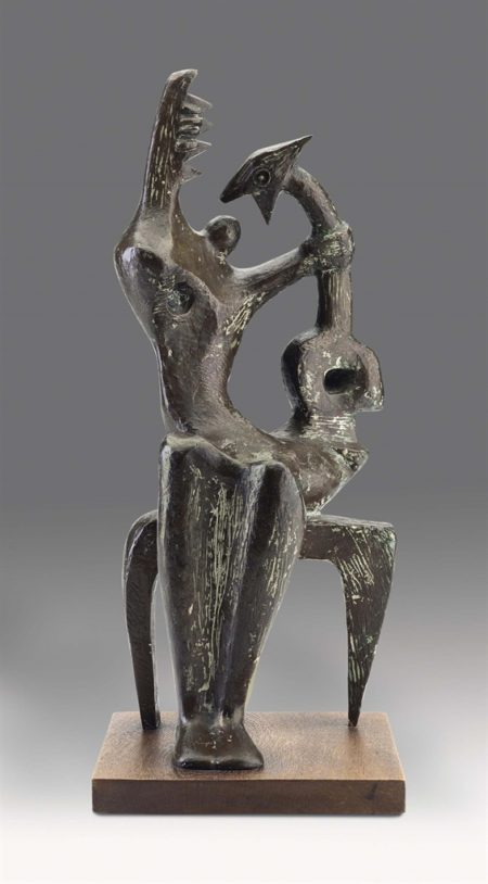 Henry Moore-Mother and Child-1953
