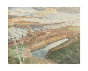 Edward Bawden-September: 7pm (Newhaven)-1937
