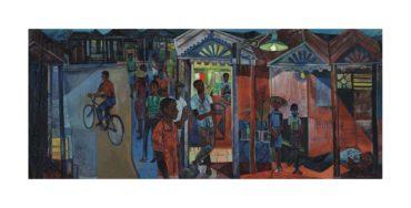 John Minton-Jamaican Village-1951