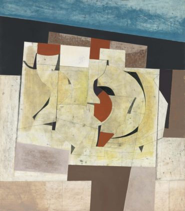 Ben Nicholson-April 57 (Arbia 2)-1957