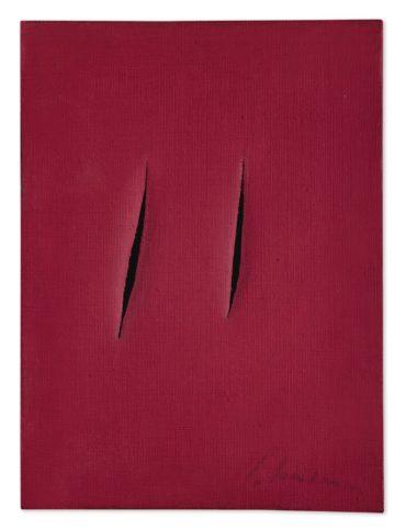 Lucio Fontana-Concetto Spaziale Attese-1959