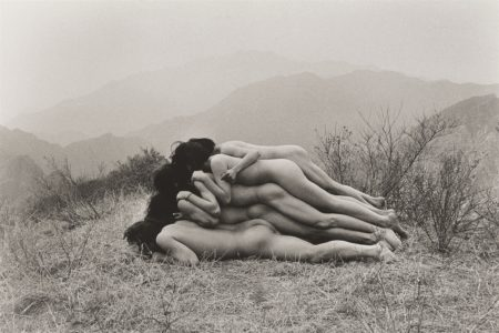 Zhang Huan-To Add A Meter To An Anonymous Mountain-1995