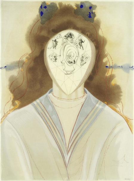 Salvador Dali-L'immortalite (Immorality)-1975