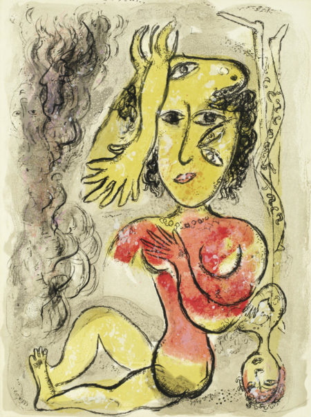 Marc Chagall-Plate 25, from 'Le Cirque' (Mourlot 515; Cramer 68)-1967