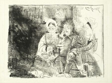 Pablo Picasso-Portrait de Famille-1962