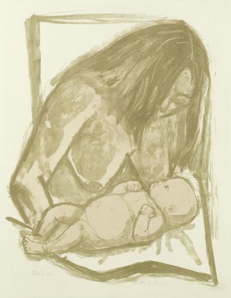 Mutter und Kind (Karsch 193 b)-1951