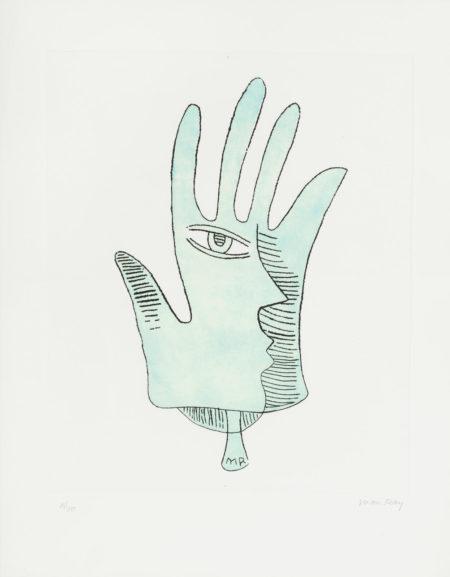 Man Ray-La Maine Bleue; Le Pont Neuf-1971