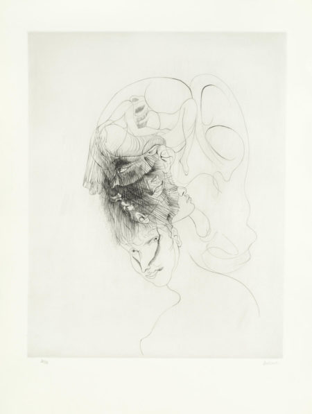 Hans Bellmer-Two untitled works-