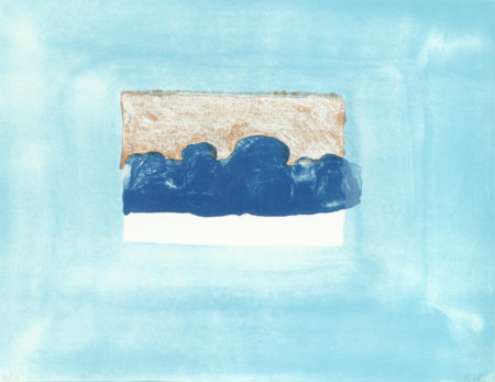 Howard Hodgkin-After Luke Howard, from 'For John Constable' (Heenk 25)-1976