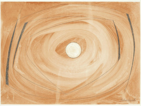 Barbara Hepworth-High Tide, from 'Opposing Forms'-1970