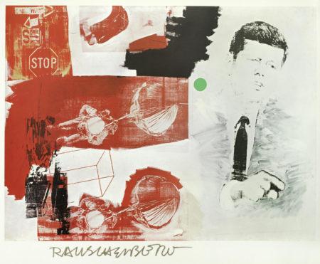 Robert Rauschenberg-After Robert Rauschenberg - J.F.K.-1970