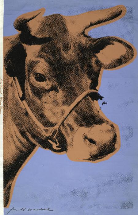 Andy Warhol-Cow (Feldman & Schellmann II.11A)-1971