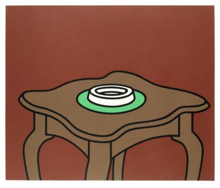 Patrick Caulfield-Occasional Table (Cristea 29)-1972