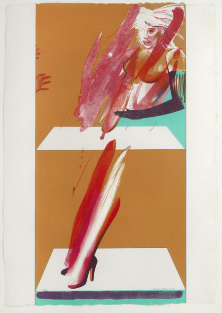 Plate c, from 'Magician Suite' (Lloyd 71)-1976