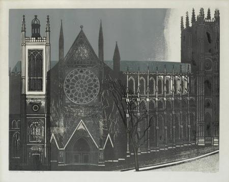 Edward Bawden-Westminster Abbey (MG. 67)-1966