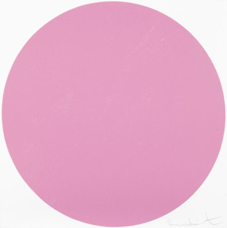Damien Hirst-Quisqualic Pink-2012