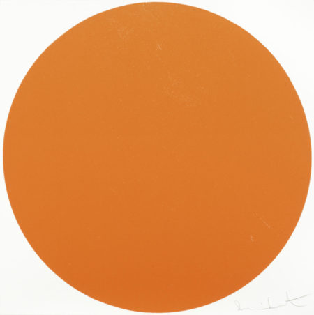 Damien Hirst-Meparticin Orange-2012