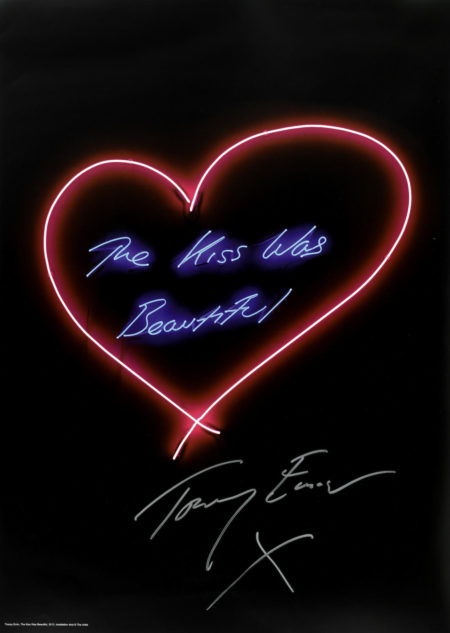 Tracey Emin-The Kiss Was Beautiful-2013