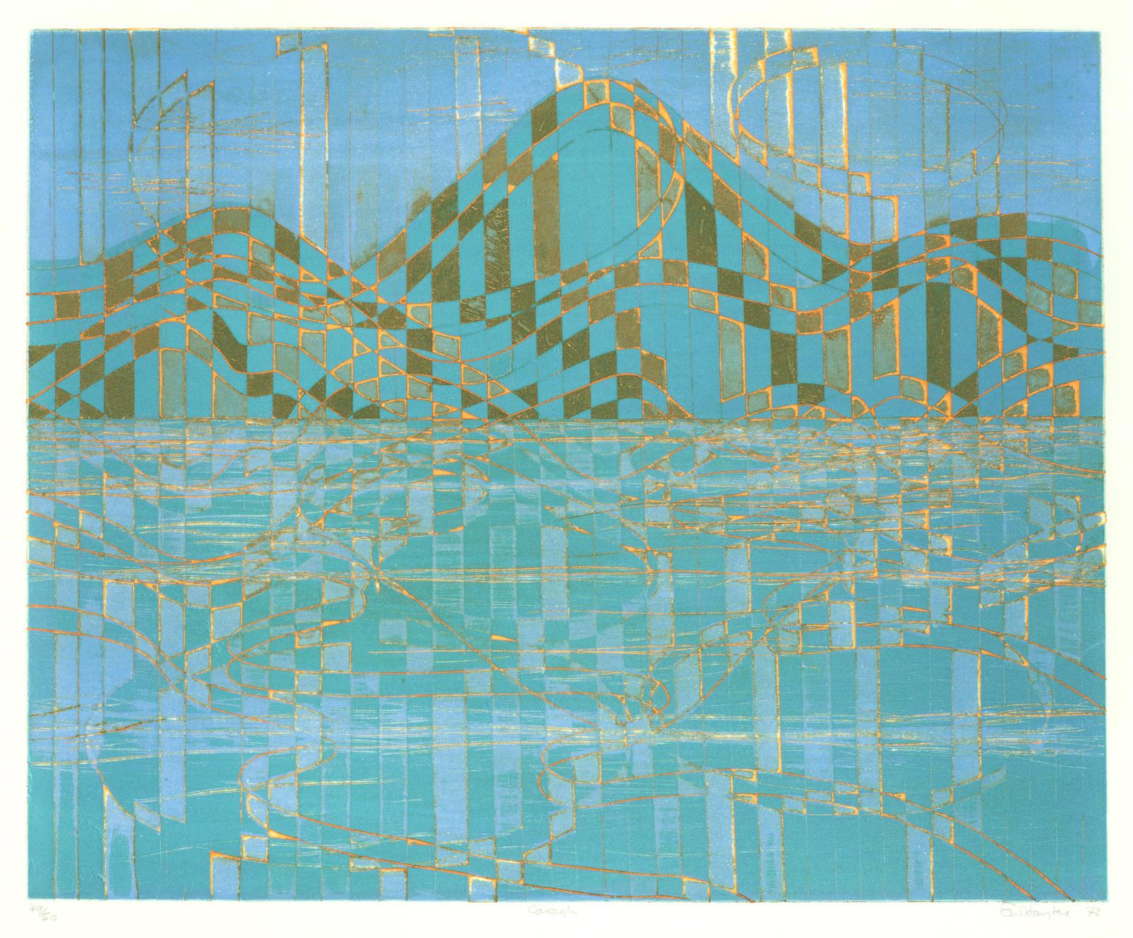 Stanley William Hayter-Caragh Lake (Black & Moorhead 356)-1972