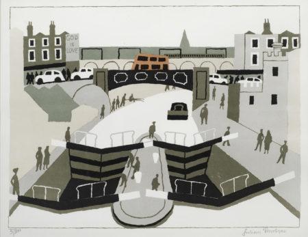 Julian Trevelyan-Camden Lock-1975