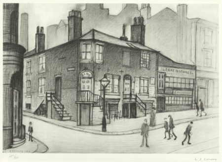 Laurence Stephen Lowry-Great Ancoats Street-