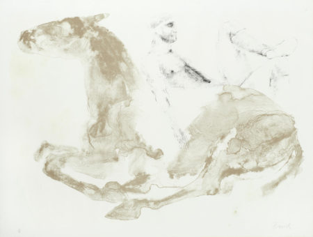 Elisabeth Frink-Man and Horse I, from the 'Man and Horse Series' (Wiseman 50)-1971