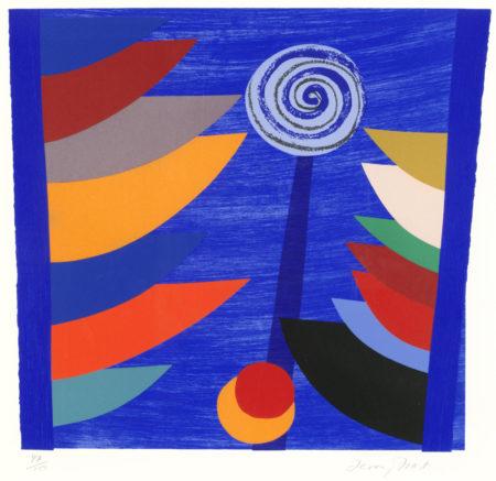 Orange and Blue Q Newlyn (Kemp 167)-1997