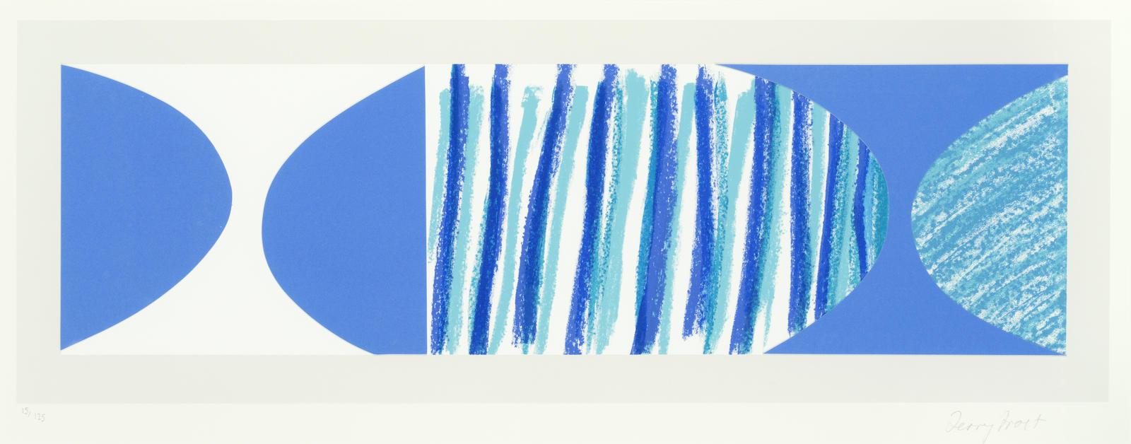 Terry Frost-Blue Brad (Kemp 244)-2003