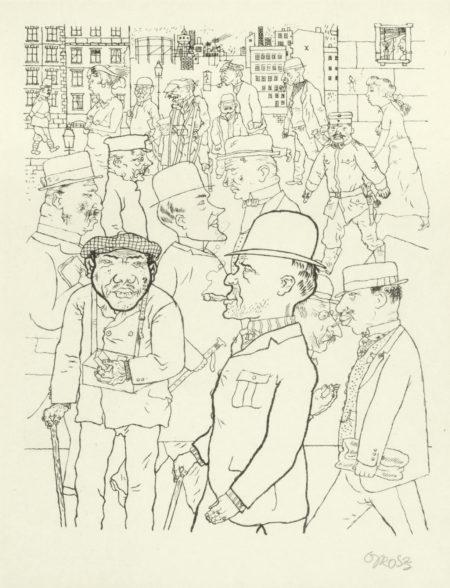 George Grosz-Vollkommene Menschen, from 'Die Schaffenden' (Duckers E 62)-1920