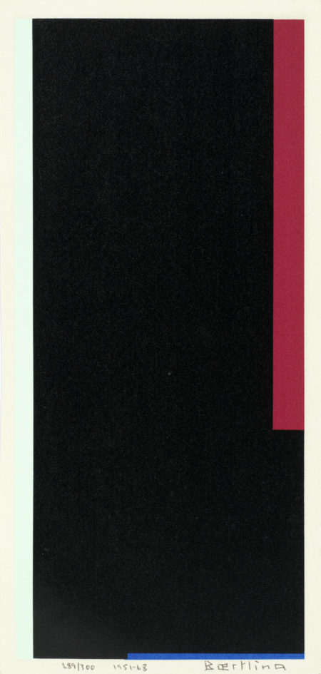 Olle Baertling-Untitled (Pour l'auteur)-1968