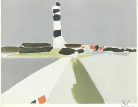 Nicolas de Stael-Le Phare-1952