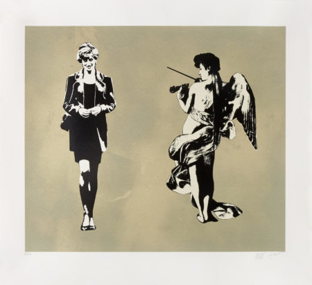 Blek le Rat-Diana and the Ange-2008