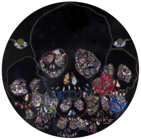 Takashi Murakami-Moon Over Ruined Castles; Kansei: the Golden Age; Hokkya Takashi: Korin-2015